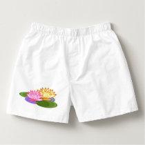 Lotus flower boxers