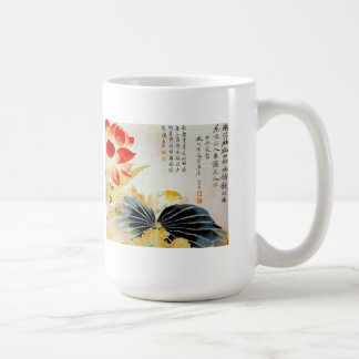 Lotus Flower Breaking the Surface Classic White Coffee Mug