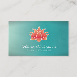 Lotus business cards zazzle lotus flower business card colourmoves