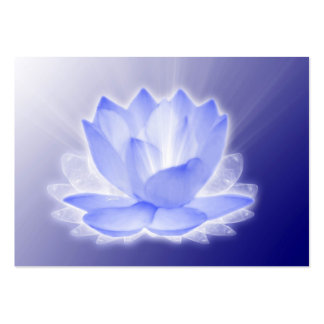 Lotus Flower Large Business Cards (Pack Of 100)