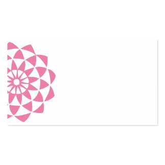 Lotus Flower Double-Sided Standard Business Cards (Pack Of 100)
