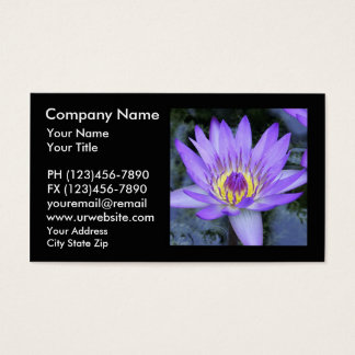 Lotus Flower Business Cards