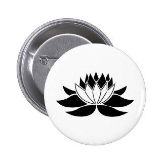 Lotus Flower Button