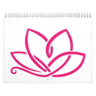 Lotus flower calendar