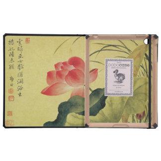 Lotus Flower Chinese Fine Art iPad Cover
