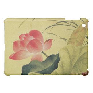 Lotus Flower Chinese Fine Art iPad Mini Covers