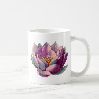 Lotus Flower Classic White Coffee Mug
