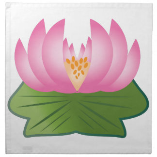 Lotus Flower Cloth Napkin