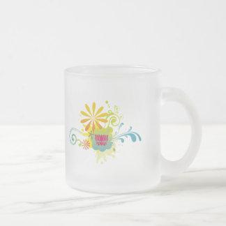 Lotus Flower Color Burst Mugs