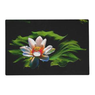 Lotus Flower design luxury place mat