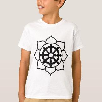 Lotus Flower Dharma Wheel T-Shirt