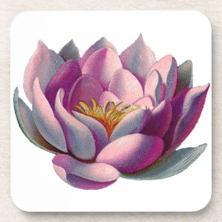 Lotus Flower Drink Coaster