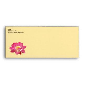 Lotus Flower Envelope