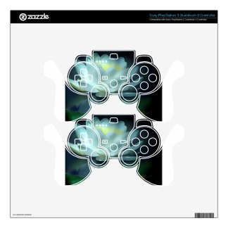 Lotus Flower Gifts Decal For PS3 Controller