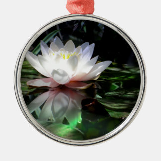 Lotus Flower Gifts Metal Ornament