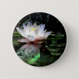 Lotus Flower Gifts Pinback Button