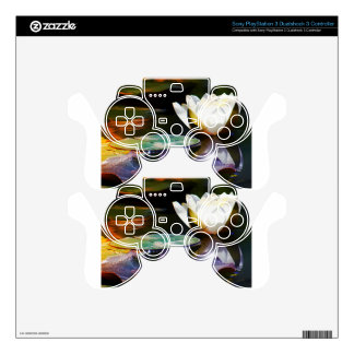 Lotus Flower Gifts PS3 Controller Decal