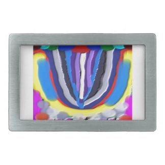 Lotus Flower Graphic GIFTS FUN Reseller TEMPLATE Belt Buckles