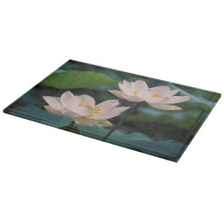Lotus flower in blossom, China Cutting Boards