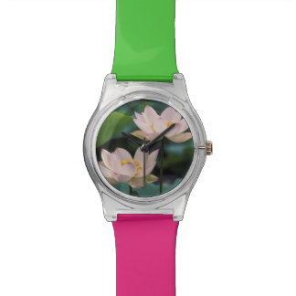 Lotus flower in blossom, China Wrist Watches