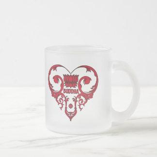 Lotus Flower in Heart Coffee Mug