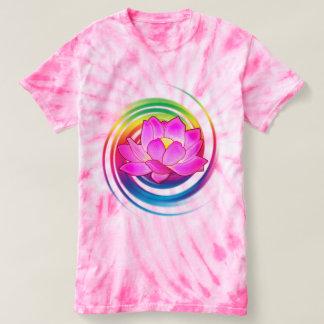 Lotus Flower in Rainbow T-shirt