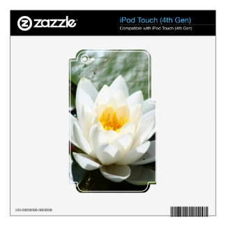 Lotus Flower iPod Touch 4G Decal
