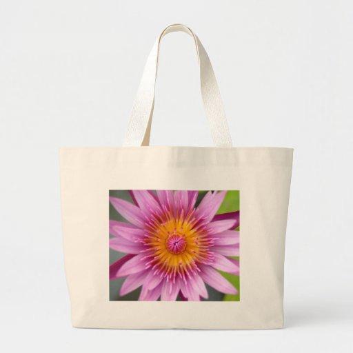 lotus  flower jumbo tote bag