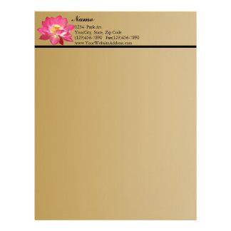 Lotus Flower Letterhead