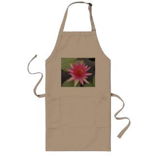 Lotus Flower Long Apron