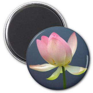 lotus flower 2 inch round magnet