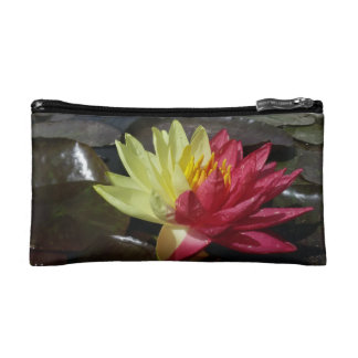 Lotus Flower Makeup Bag