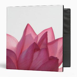 Lotus flower [Nelumbio speciosum] in full Vinyl Binders