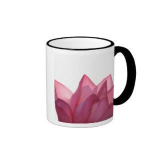 Lotus flower [Nelumbio speciosum] in full Ringer Coffee Mug