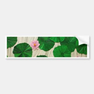 Lotus, Flower of the East 1 Bumper Sticker