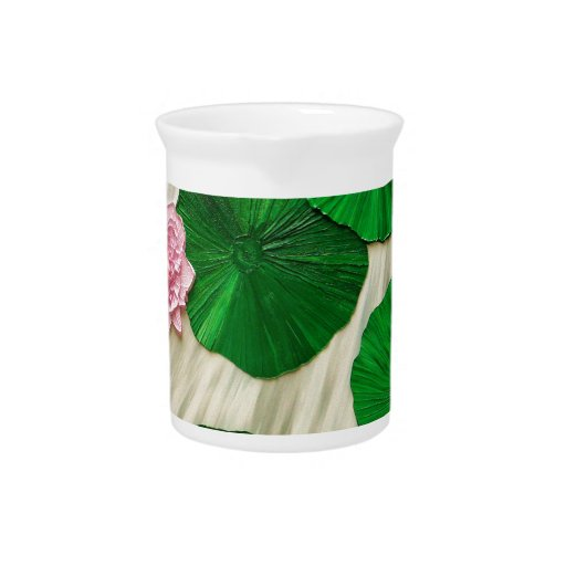 Lotus, Flower of the East 1 Drink Pitcher