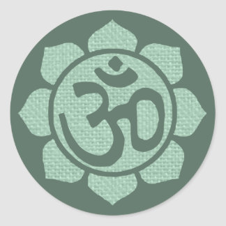 lotus flower ohm sticker