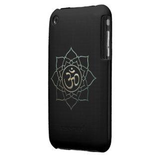 Lotus Flower Om iPhone 3 Case