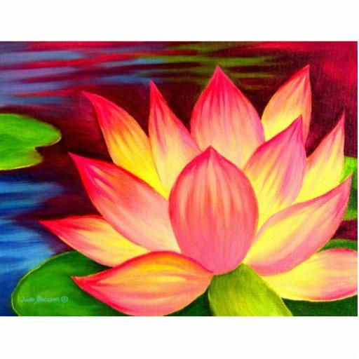 Lotus Flower Painting Art Photo Sculpture