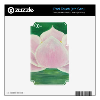Lotus Flower Painting Decals For iPod Touch 4G