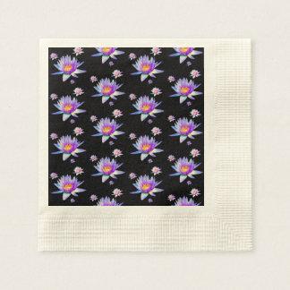 Lotus Flower Paper Napkin