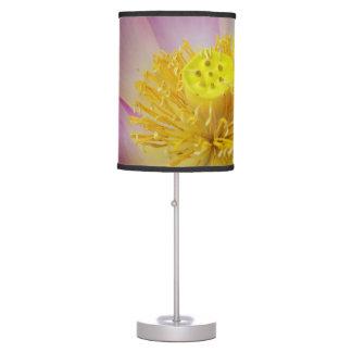 lotus flower petals desk lamp