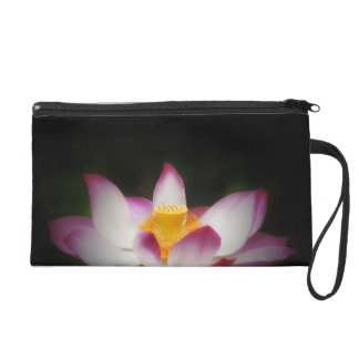 Lotus Flower Photography Great Yoga Om Gift! Wristlet Clutches