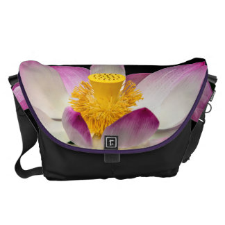 Lotus Flower Photography Great Yoga Om Gift! Courier Bag