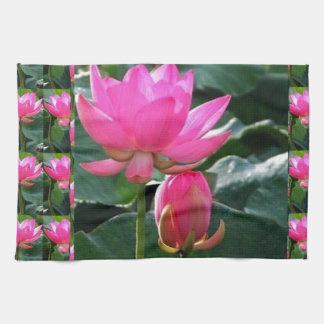 Lotus Flower Pink Towel