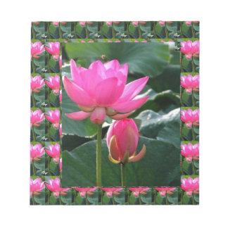 Lotus Flower Pink Notepad