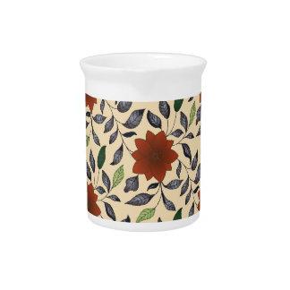 Lotus flower beverage pitchers