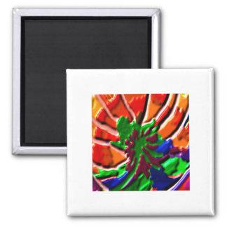 Lotus Flower -   Power Healing 2 Inch Square Magnet