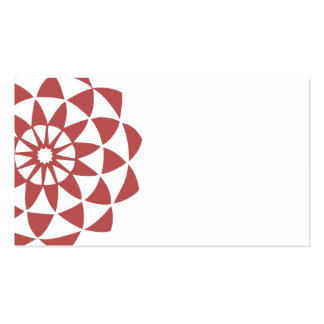 Lotus Flower Profile Card