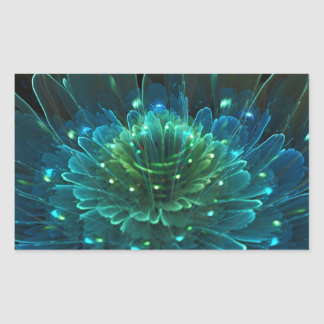 Lotus Flower Rapture Collection Rectangular Sticker